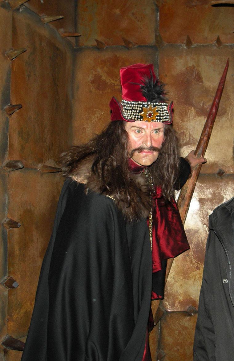 Vlad Palownik, Muzeum Figur Woskowych Madame Tussaud w Londynie