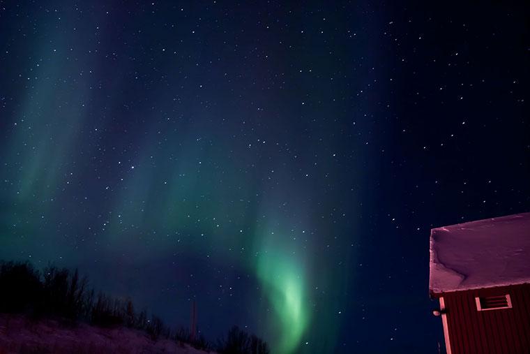 Aurora Borealis - zorza polarna, Norwegia,