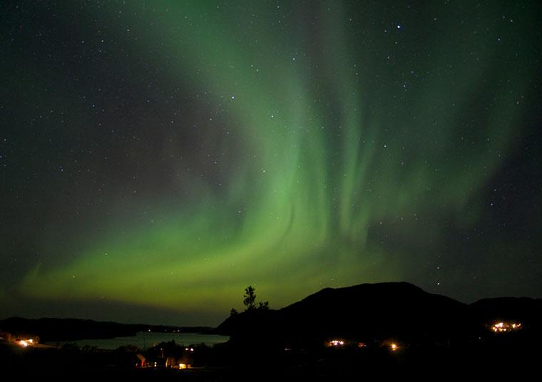Aurora Borealis - zorza polarna, Norwegia