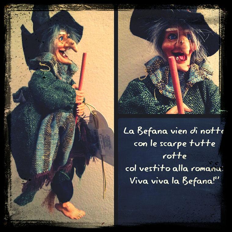 Befana – dobra czarownica
