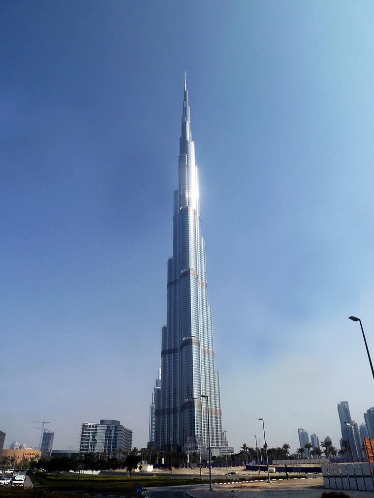 Burj Khalifa w Dubaju, Zjednoczone Emiraty Arabskie