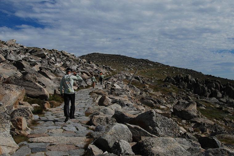 Joachim Czerniak, Wyprawa po Australii, Góra Kościuszki