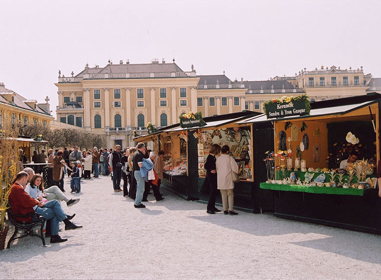 Wielkanocne kiermasze w Wiedniu