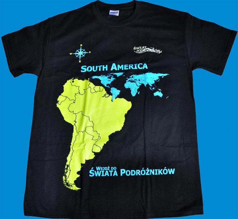 Koszulka Świata Podróżników - Ameryka Południowa