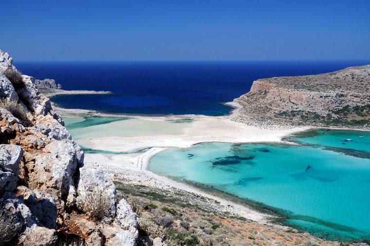 Gramvousa i Balos. Kreta, Grecja