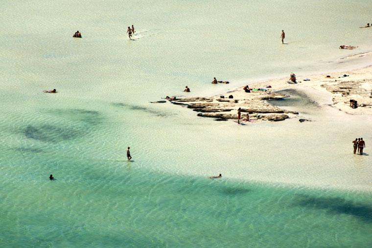 Plaża na Balos Lagoon, Kreta, Grecja