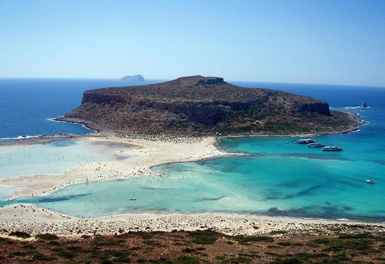 Gramvousa i Balos, fot. jimtsap, Flickr CC