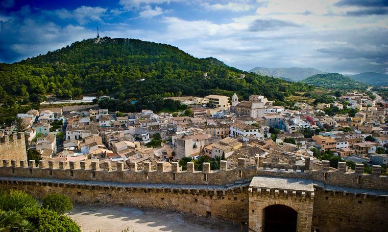 Widok na Capdepera - Majorka