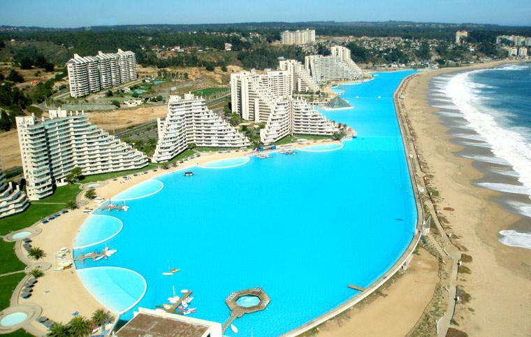 Największy basen na świecie, San Alfonso del Mar