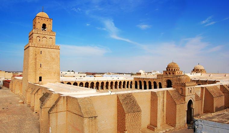 Wielki Meczet w Kairouan, Tunezja