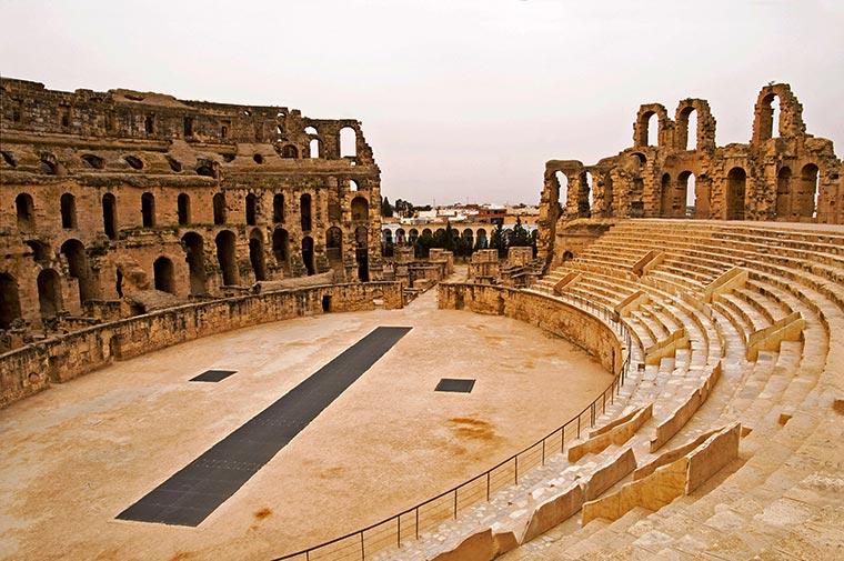 Amfiteatr w Al-Dżamm, Tunezja