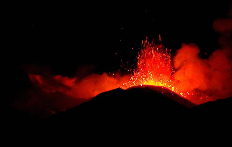 Wulkan Etna, Włochy