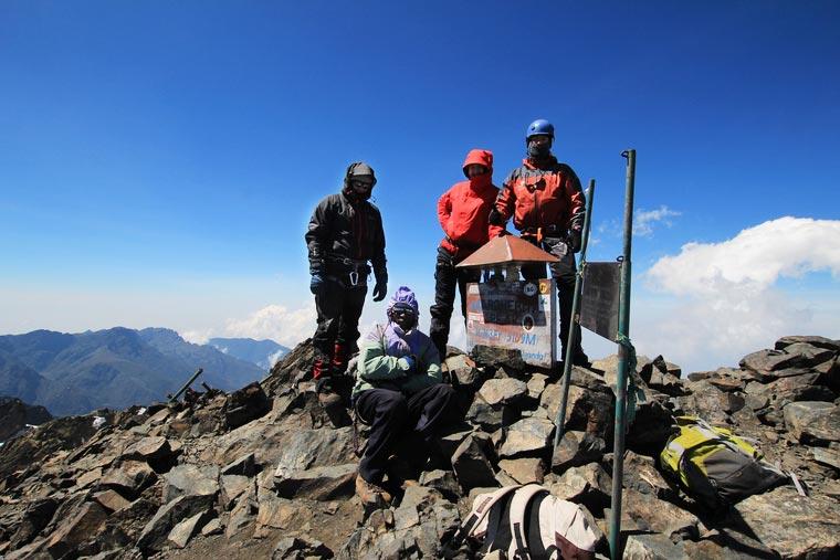 Uganda, Rwenzori (Margherita Peak) - 5109 m n.p.m.