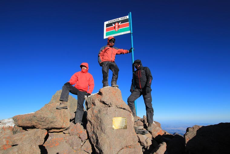 Kenia, Mount Kenya (Pt.Lenana) - 4985 m n.p.m.
