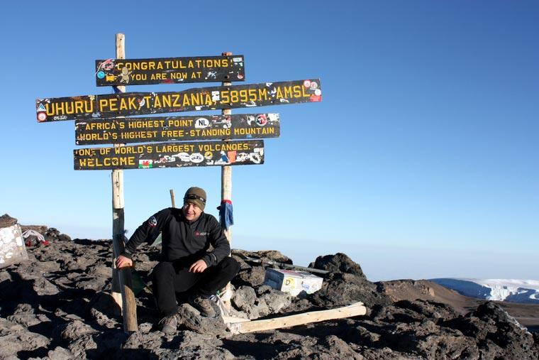 Tanzania, Kilimanjaro (Uhuru Peak) - 5895 m n.p.m.